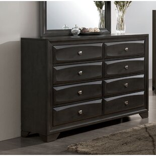 Alder 8 Drawer Dresser