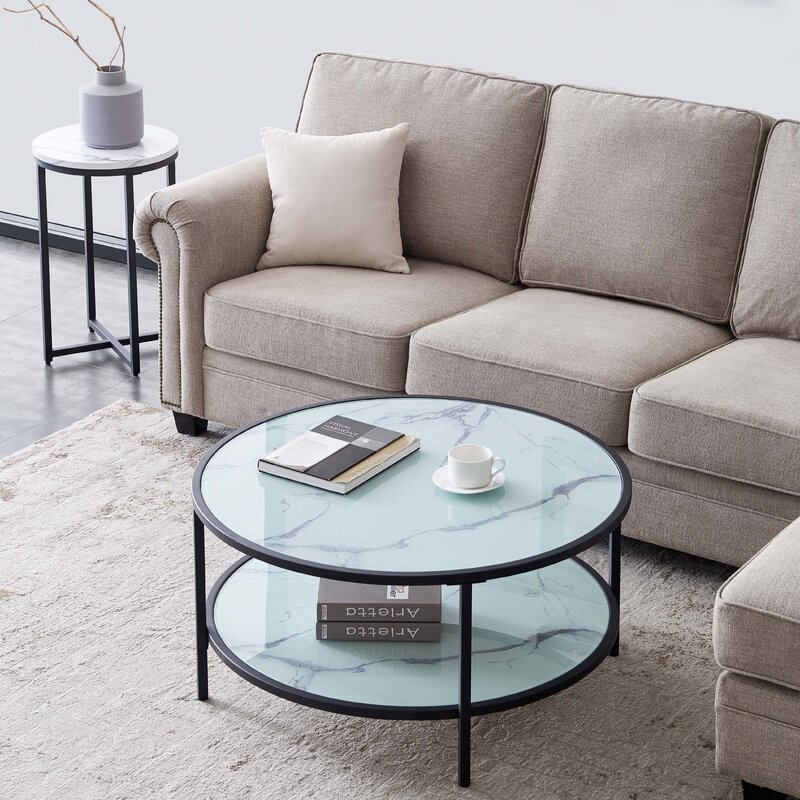 Latitude Run Elesio Coffee Table with Storage