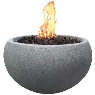 Concrete Propane Fire Pit Table By Elementi