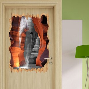 Magnificent Antelope Canyon Wall Sticker By East Urban Home
