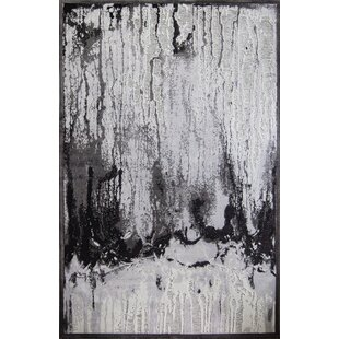 Compare & Buy Emme Black/White Area Rug By 17 Stories