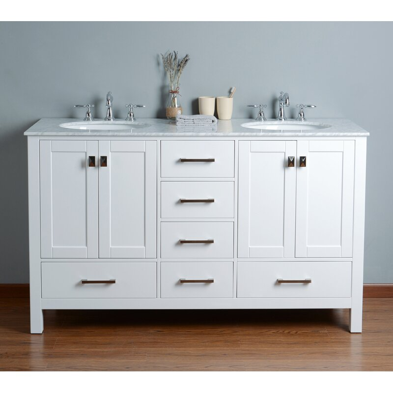Ankney 60 Double Bathroom Vanity Set