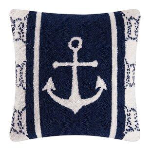 Sailor S Bay Hooked Throw Pillow