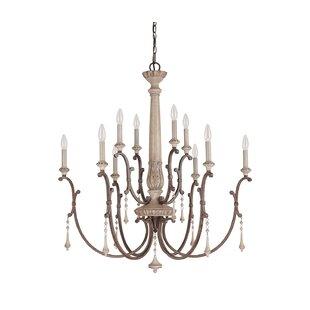 Astoria Grand Drumboe 10-Light Chandelier