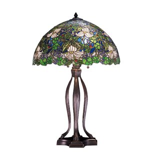 Trillium and Violet 30 Table Lamp