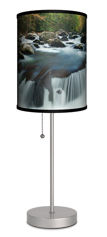 Lamp In A Box Middle Prong 20 Table Lamp Wayfair