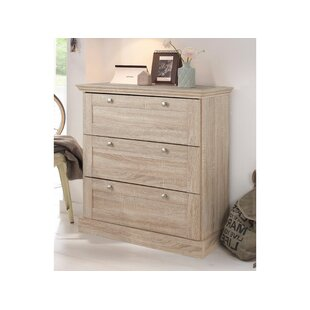 3 Drawer Chest By Brambly Cottage