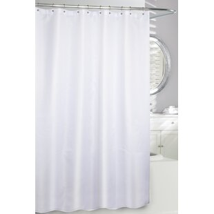 Waffle Fabric Single Shower Curtain