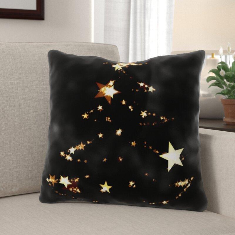The Holiday Aisle Reynold Christmas Indoor Outdoor Canvas Throw Pillow Wayfair