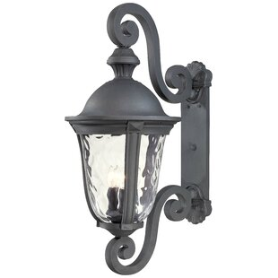 Great Outdoors by Minka Ardmore 3-Light Outdoor Wall Lantern