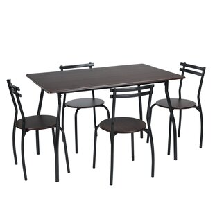 Colgan 5 Piece Dining Set by Williston Forge