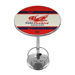 Pure Oil Vintage Pub Table Trademark Global