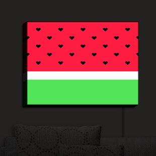 Zoomie Kids I Love Watermelon' Print on Fabric