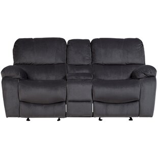 Gracehill Upholstered Reclining Loveseat by Three Posts