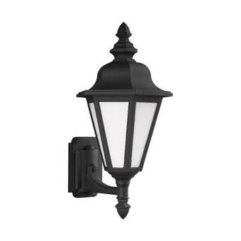 Alcott Hill Triplehorn Outdoor Wall Lantern Wayfair