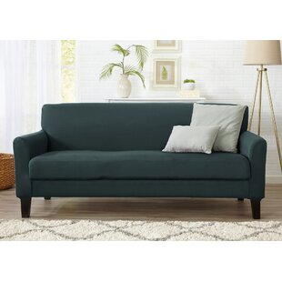 Best Reviews Box Cushion Sofa Slipcover by Winston Porter Reviews (2019) & Buyer's Guide