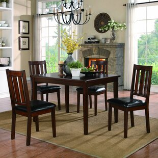 Mosely 5 Piece Dining Set Woodhaven Hill