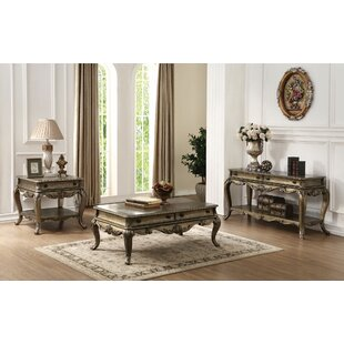 Lorentz 3 Piece Coffee Table Set