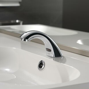 Delta Electronic Battery Lavatory Faucet with Grid Strainer