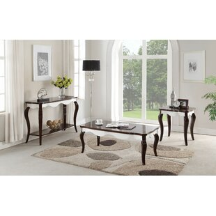 Arney 3 Piece Coffee Table Set