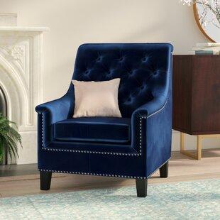 Highbury Tufted Armchair by Willa Arlo Interiors