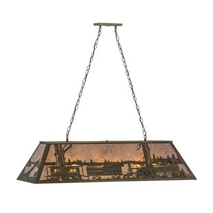 Meyda Tiffany Train 9-Light Pool Light Pendant
