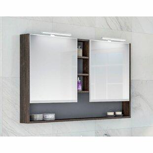 Raiden 120cm X 75cm Surface Mount Mirror Cabinet By Belfry Bathroom