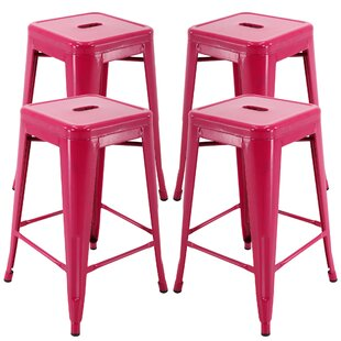 Duckett Backless 24 Bar Stool (Set of 4)