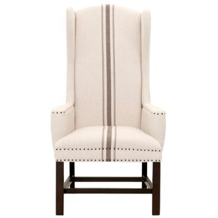 Bartram Wingback Chair by One Allium Way 2019 Online