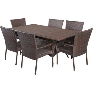 Fort Smith 7 Piece Dining Set by Alcott H..