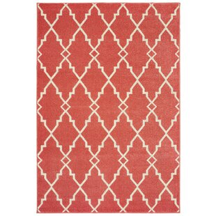 Salguero Lattice Pink Indoor/Outdoor Area Rug