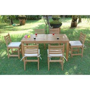 Montage 7 Piece Teak Dining Set