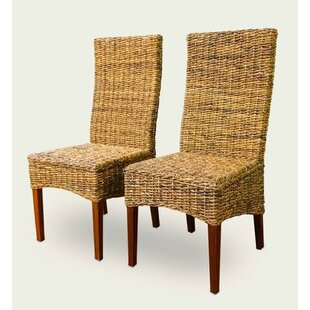 Read Reviews St. Kitts Abaca Dining Chair (Set of 2) by ElanaMar Designs Reviews (2019) & Buyer's Guide