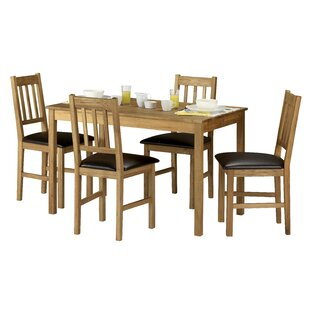 Ophelia Dining Set With 4 Chairs By Alpen Home