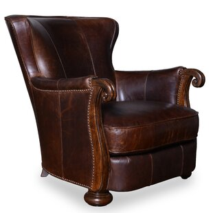 Blondell Leather Club Chair by Dar by Home Co