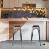 Quebec Metal 30 Bar Stool (Set of 2) by Williston Forge