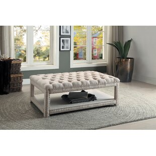 Caraway Tufted Cocktail Ottoman by House of Hampton