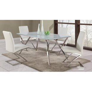 Decimus Metal Side Chair (Set of 4) Orren Ellis