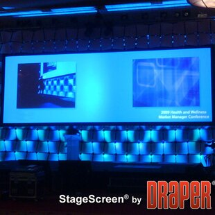 StageScreen Matt White Portable Projection Screen