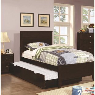 Great Price Downing Platform Bed with Trundle by Mack & Milo Reviews (2019) & Buyer's Guide