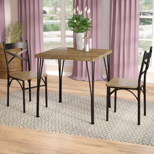 Guertin 3 Piece Dining Set