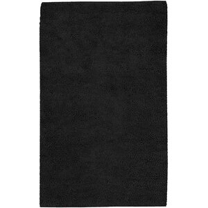 Bonney Black Area Rug