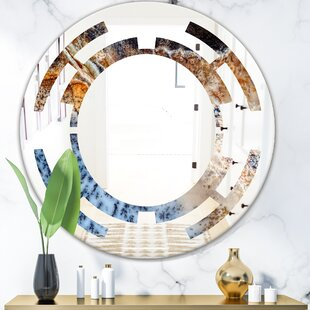 Space Close up Modern Frameless Wall Mirror by East Urban Home