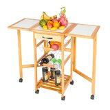 Dawid Portable Rolling Kitchen Cart by August Grove®