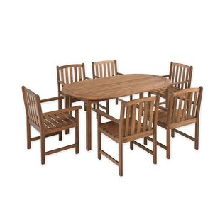 Plow & Hearth Lancaster 7 Piece Dining Set