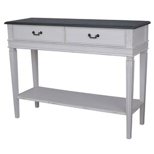 Madison 2 Drawer Console Table by August Grove