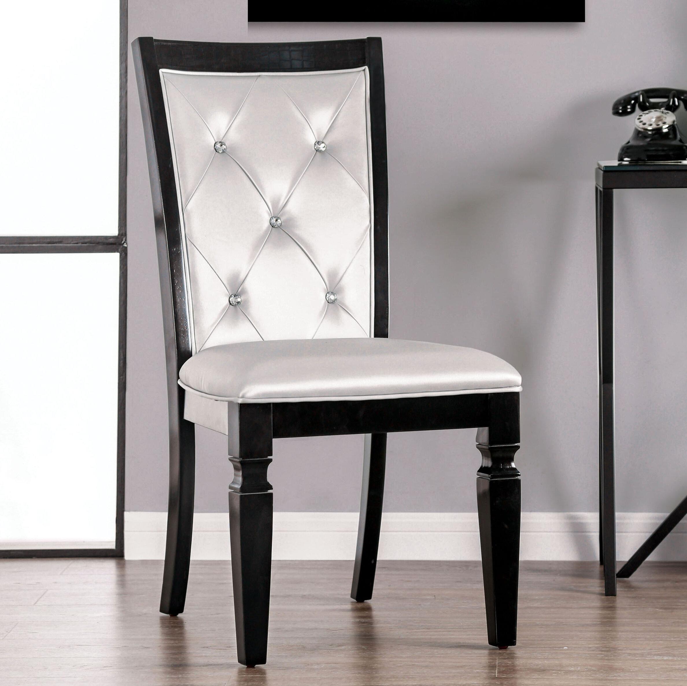 Rosdorf Park Kohen Upholstered Dining Chair Wayfair
