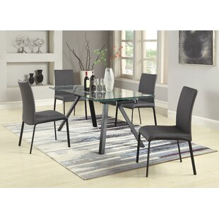 Julianne 5 Piece Extendable Dining Set