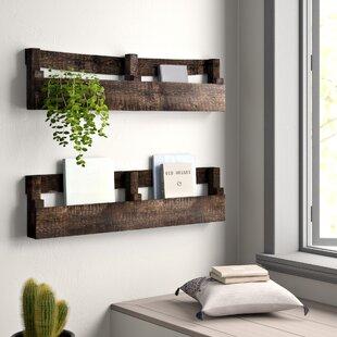 Wood Pallet Wall Shelf Wayfair