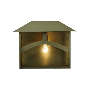 Inexpensive 1-Light Outdoor Flush Mount By Meyda Tiffany